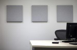wall art in office refurbishment