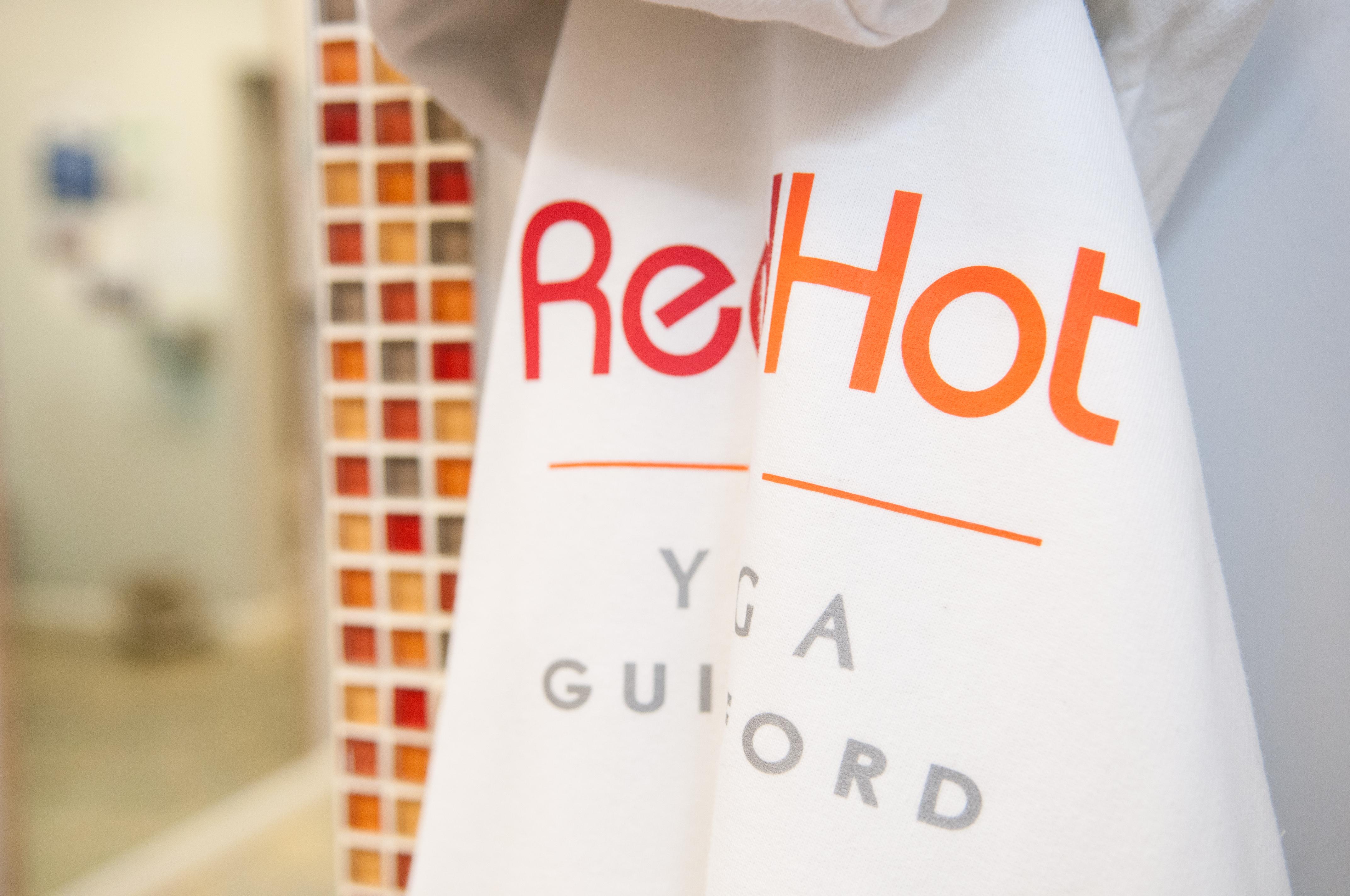 Red Hot Yoga Branding