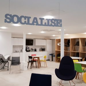 Socialising office space