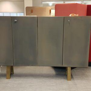 Custom paint storage unit