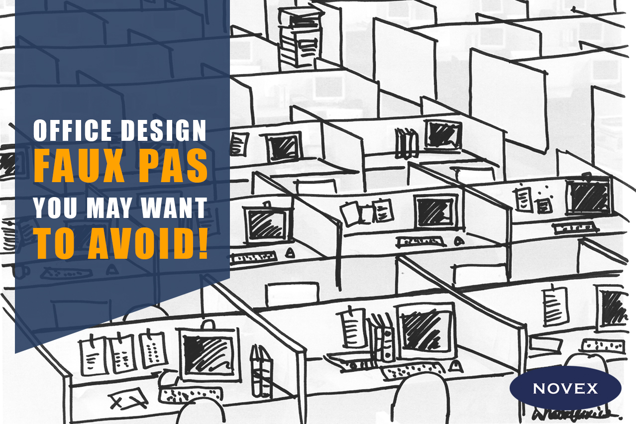 Bad office design - Design Faux Pas to avoid