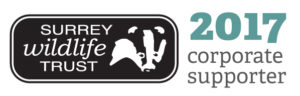 Surrey Wildlife Corporate Supporter Logo (2017)