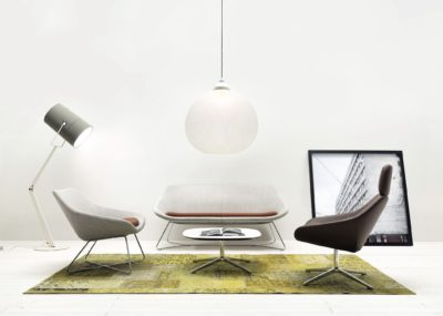 Allermuir Soft Seating Furniture in a home like environment