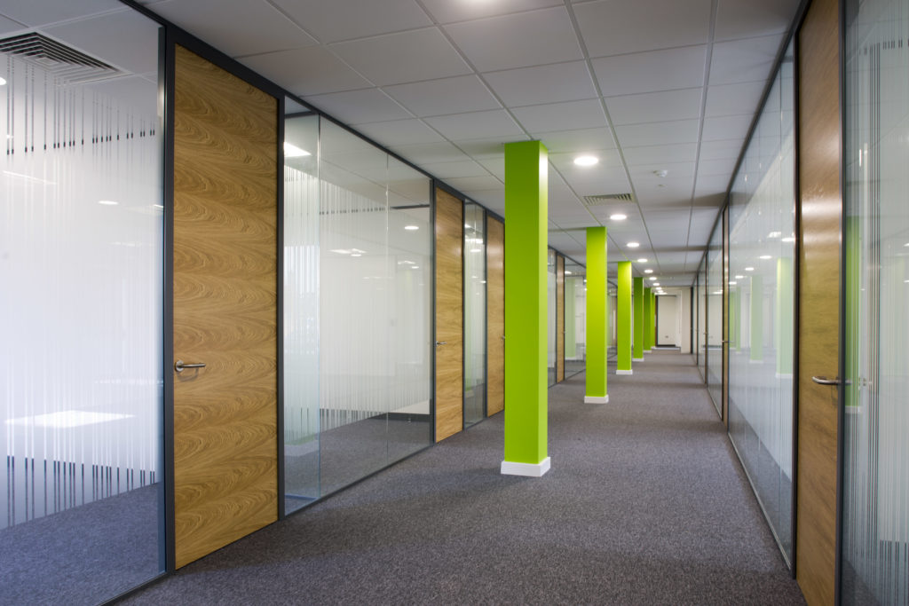 Workplace fit-out in Chertsey