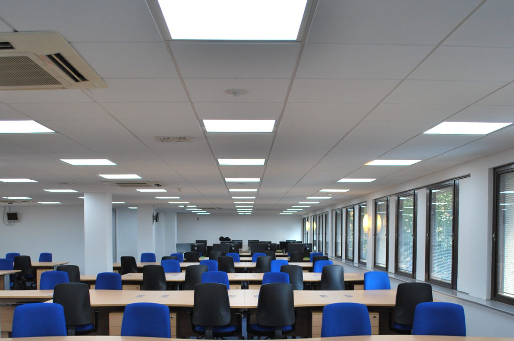 LED Lighting for Workplace Improvements